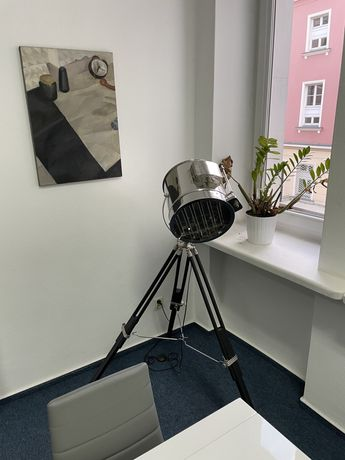 Lampa podłogowa loft metalowa