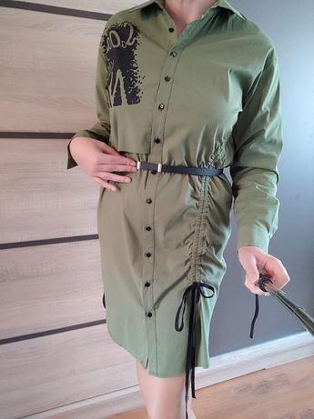 Nowa sukienka s khaki