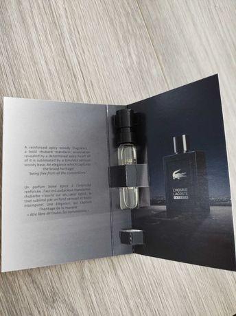 Perfumy Lacoste l'homme próbki