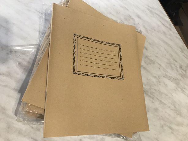 Продам тетради в косую линию - 12 листов.