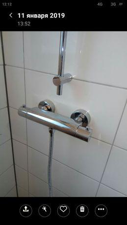 Смеситель термостат душ Германия