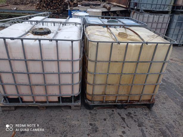 Zbiorniki mauzer 1000l po paliwie