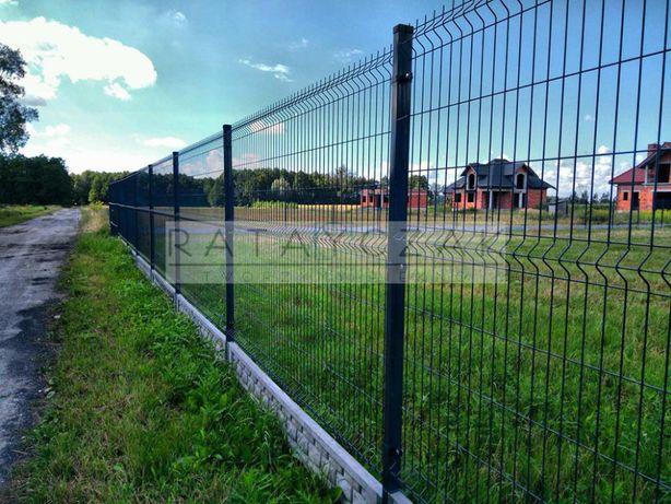 PROMOCJA WRZEŚNIOWA! Panel ogrodzeniowy 1,53x2,50m fi 4,0 ocynk+RAL