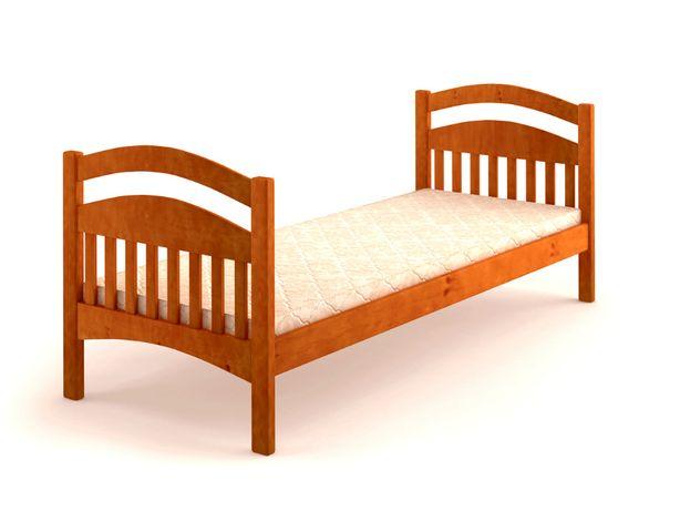 """Односпальная кровать """"Карина"""" с ольха без бортов. Акция есть."""
