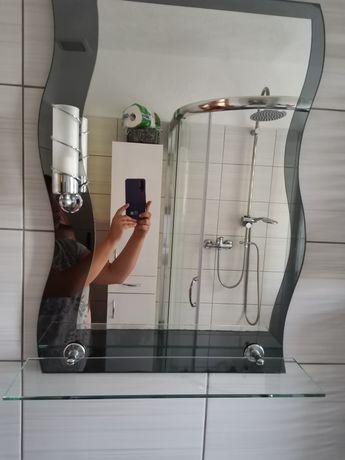 Sprzedam lustro łazienkowe i szafkę z umywalką i baterią.