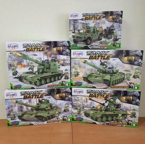 Конструктор Лего Tank Battle военная техника, военный набор танк
