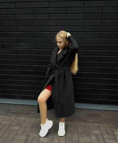 Продам пальто серого цвета