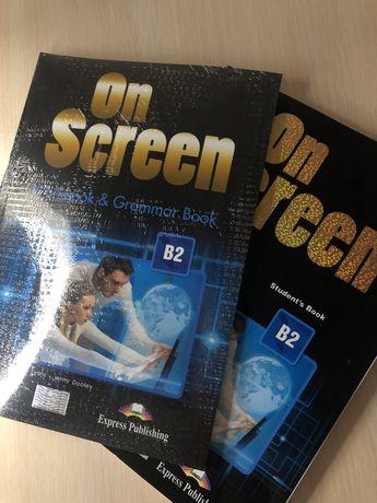 On Screen 2, Student's book + Workbook / Учебник + Тетрадь английского