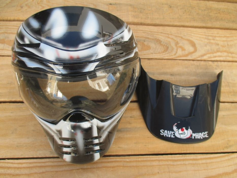 Máscara Save Phace para Paintball /AIRSOFT - Oferta de envio.* Faro - imagem 1