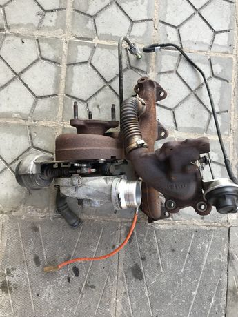 Турбокомпресор Dacia Duster 10-17 пробіг 52 т двиг -к9к турбіна