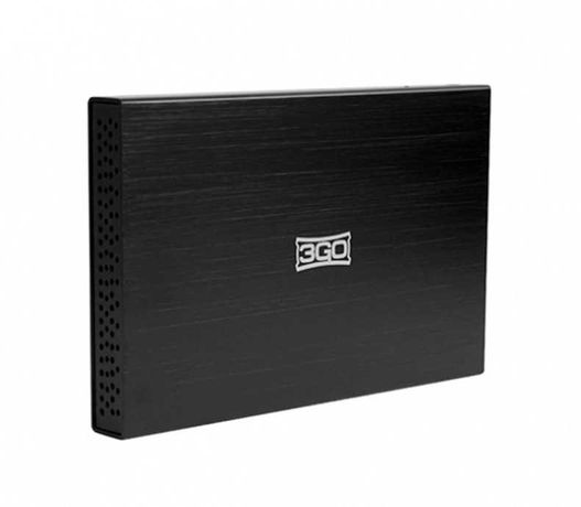 """Caixa para disco externo 3GO 2.5"""" Usb 2.0 Novo LOJA"""