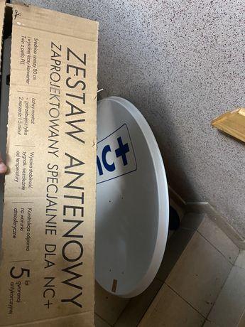NOWY Zestaw antenowy 80cm TWIN NC+