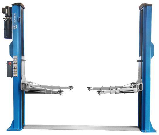 Podnośnik samochodowy 2-kolumnowy 4,5T Busy długie ramiona 1500mm