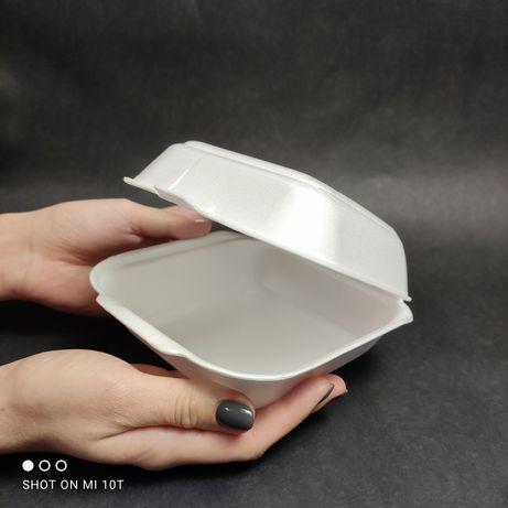 Упаковка для еды. Ланч бокс. Темобокс для еды. Одноразовая посуда.