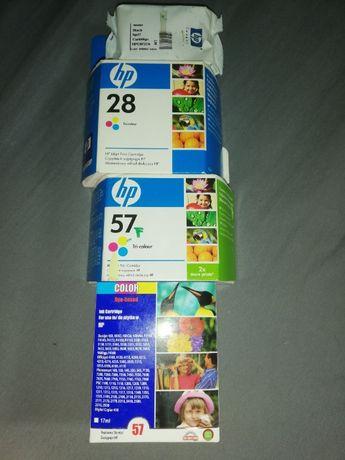Tusz HP28 i HP57