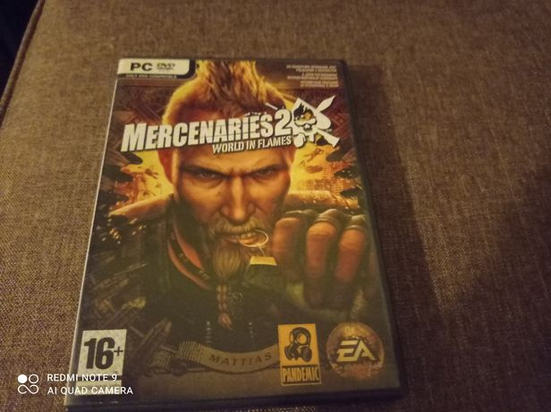 Mercenaries 2 na pc