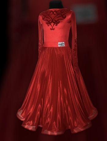 Платье для бальных танцев 140-146