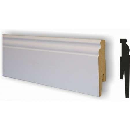 Listwa biała podłogowa modena retro 80 Nowa Dęba - image 1