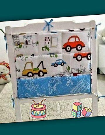 Органайзер на детскую кроватку, комод, в детскую комнату