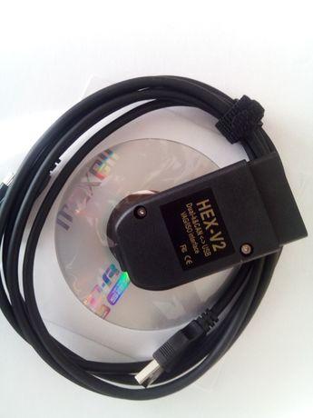 Interfejs diagnostyczny VCDS V2 20.4.2PL/20.12.0ENG Atmega162 Bootload