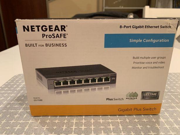 Switch Netgear ProSAFE GS 108E-300PES 100%ok
