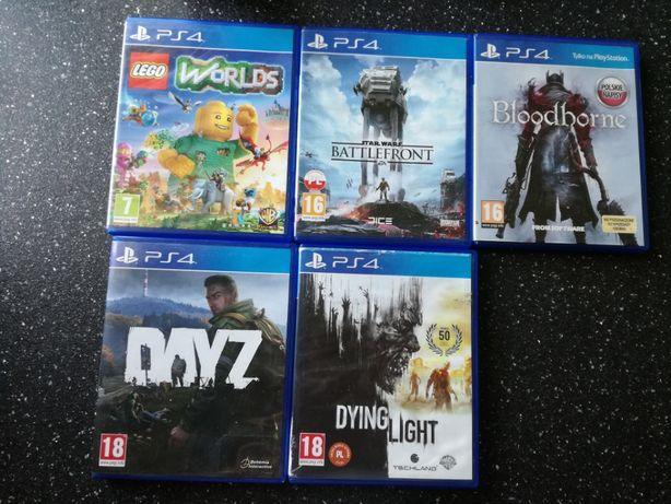 Zestaw gier PS4 ( 5 gier )