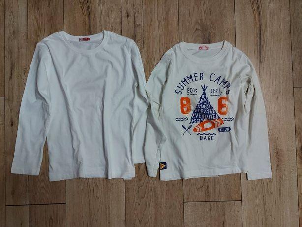 bluzki t-shirty z długim rękawkiem dp...am r.126cm 8l.