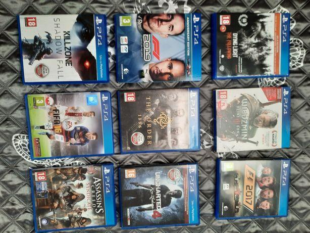 Gry na PlayStation 4 (Możliwość kupienia pojedynczo)
