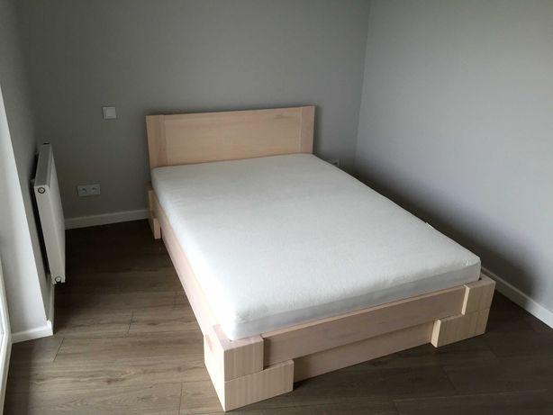 Łóżko z pojemnikiem na pościel 140x200 cm