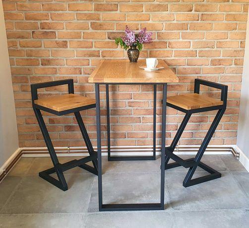 Hoker krzesło barowe Loft 2
