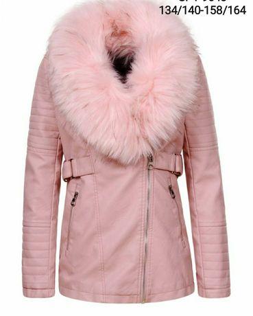 Классная курточка куртка  на девочку р.134-164