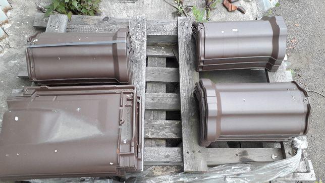 gąsior podstawowy do dachówki ceramicznej Braas Rubin 9V brązowy