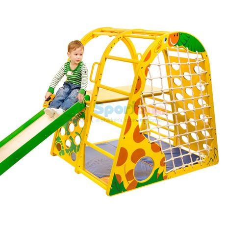 Спортивный уголок в комнате, детская стенка спортивная Жирафик Спортан