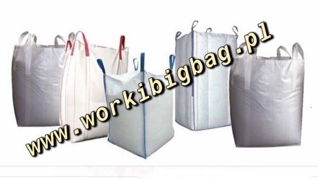 Worki Big Bag Bagi ZBOŻE Ziemniaki Pellet Granulat 500kg 750kg 1000kg