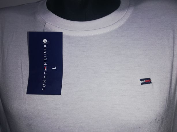 Koszulka długi rękaw Tommy biała