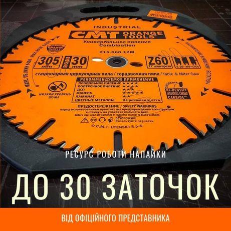 Пильные диски (дисковые пилы) по дереву СМТ, инструмент для столярки