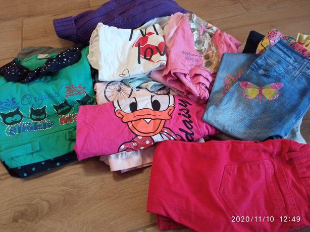 Ubrania dla dziewczynki - zestaw 98/104