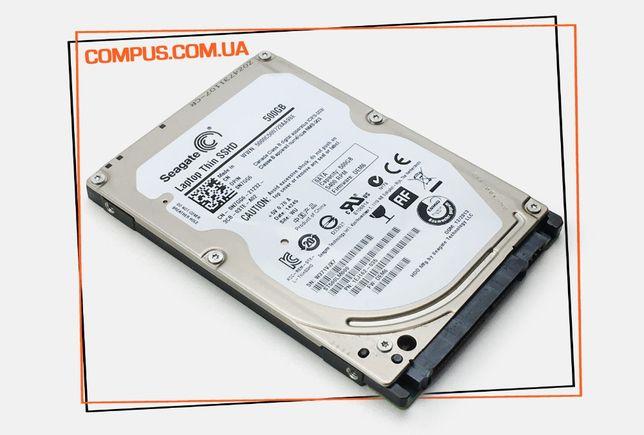 Жесткие диски SEAGATE THIN 500GB SSHD в СУПЕР состоянии с ГАРАНТИЕЙ!