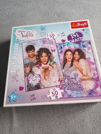 Puzzle Violetta 50 plus 50