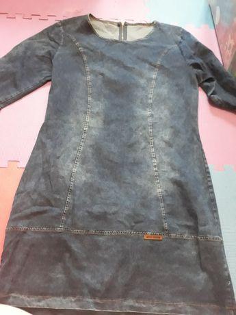Dżinsowa sukienka