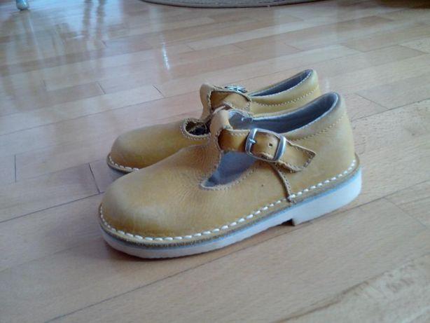 Кожаные туфли для мальчика .28р.