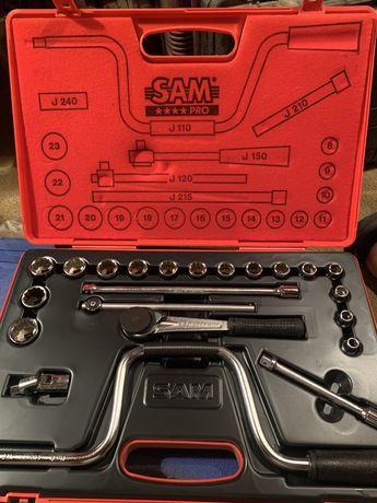 Jogo de chaves de Caixa Sam Pro nova