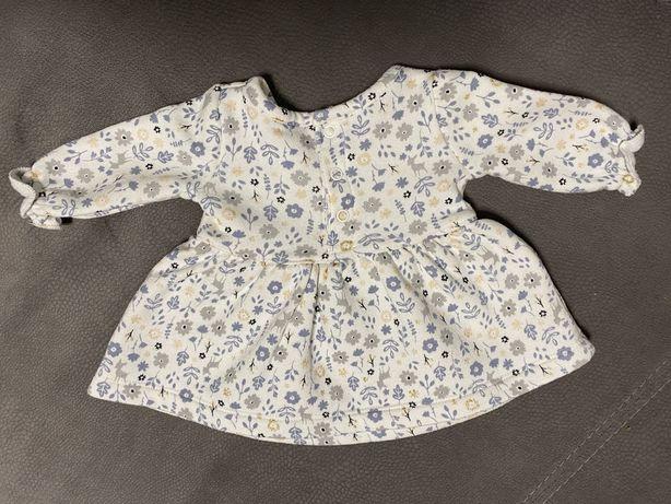 Dresowa sukienka 50-56 Carter's