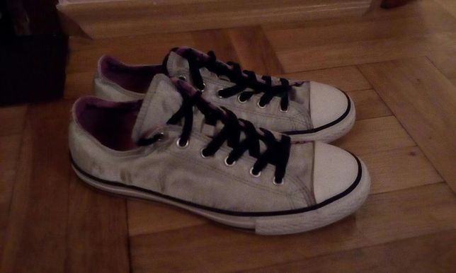 Trampki converse ALL STAR srebne r38.5