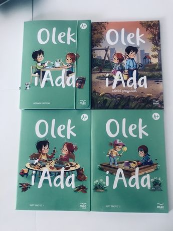 Podręcznik Mac Adai Olek A + Czterolatek