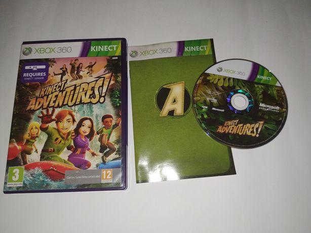Gra na konsole Xbox360, Kinect adventures