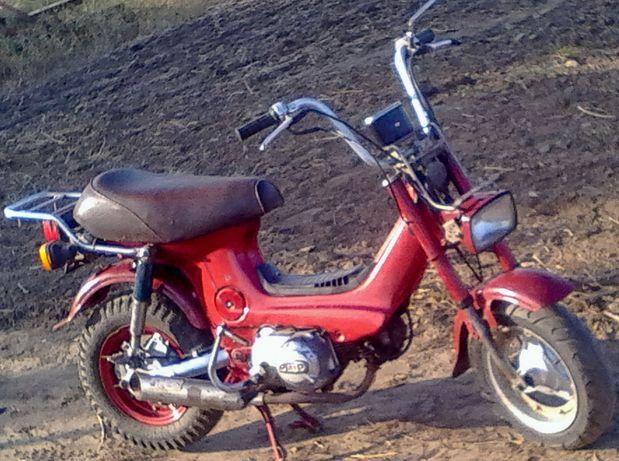 Продам 2-х местный минибайк Honda Chaly с кабовским мотором 1982года