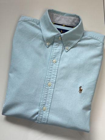 Koszula Polo Ralph Lauren rozmiar S, regular fit, miętowa / mint /