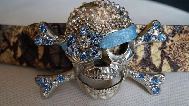 Pasek Diamond Pirate Skull orginal