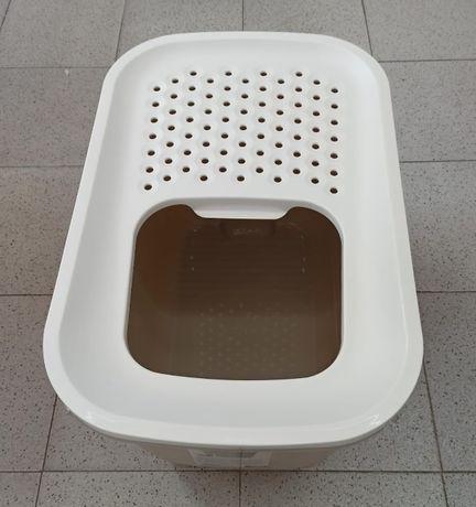 Novo! WC Casa de banho de Gato Hop In 58,5 x 39 x 39,5 cm